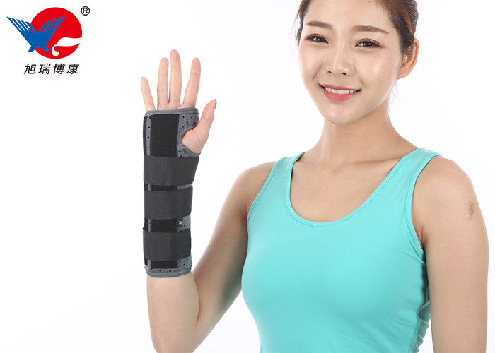 Pain Relief Removable Wrist Splint Good Adhesion Ergonomic Aluminum Steel Stays Inside