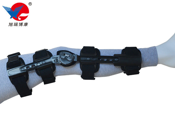 Flannel Strap Knee Support Brace Front Closure Design For Easy Application